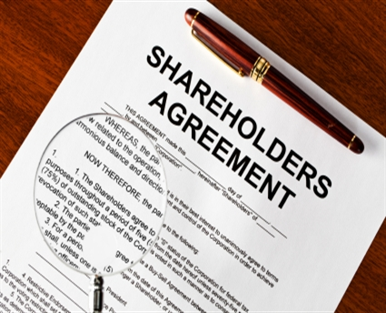 Shareholder Agreement For Your New Or Existing Company