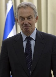 Tony Blair resigns as Middle East Peace Envoy